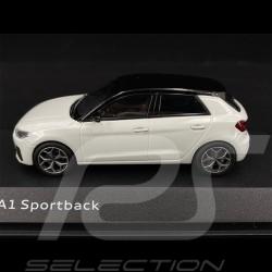 Audi A1 Sportback 2018 Blanc Glacier 1/43 Norev  5011801031