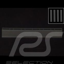 Bordure inclinée pour dalle de garage - couleur Noir RAL9004 - lot de 4 - sans oeillet