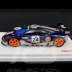 McLaren F1 GTR n° 24 Gulf Racing 24H Le Mans 1995 1/43 True Scale TSM124336
