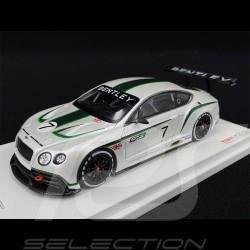 Bentley Continental GT3 Präsentation Mondial de l'Automobile 2012 1/43 True Scale TSM134301