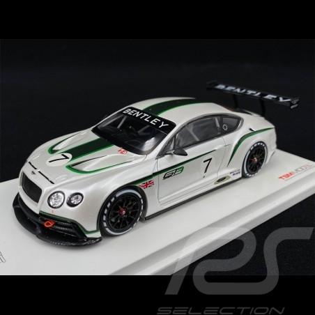 Bentley Continental GT3 Présentation Mondial de l'Automobile 2012 1/43 True Scale TSM134301