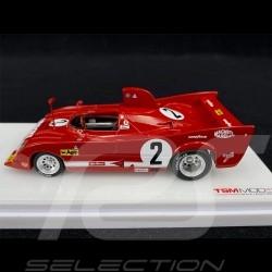 Alfa Romeo T33 TT 12 n° 2 Vainqueur 1000 km Monza 1975 1/43 True Scale TSM164311