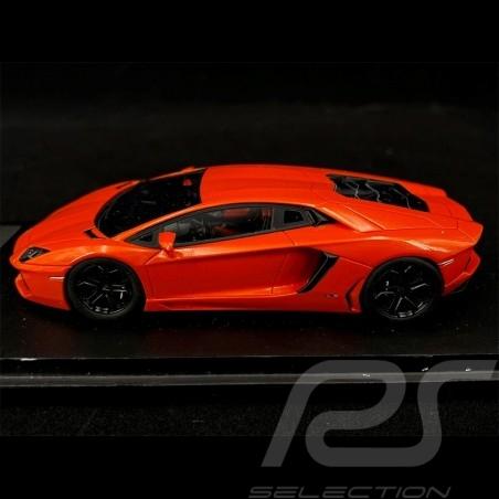 Lamborghini Aventador LP700-4 2011 orange Arancio Argos 1/43 Fujimi TSM11FJ013