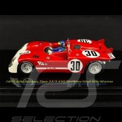 Alfa Romeo Tipo 33/3 n° 30 Sieger 6H Watkins Glen 1971 1/43 True Scale TSM124307