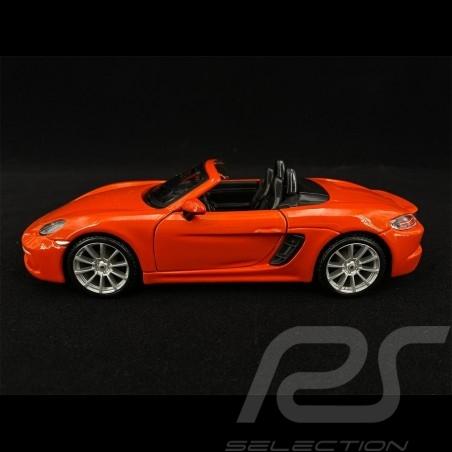 Porsche 718 Boxster 2016 Orange 1/24 Bburago 21087O