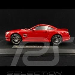 Mercedes-Benz SL63 AMG 2012 Rouge 1/18 Maisto 36199