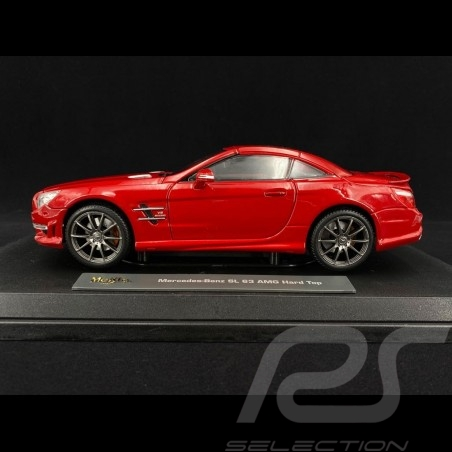 Mercedes-Benz SL63 AMG 2012 Red 1/18 Maisto 36199