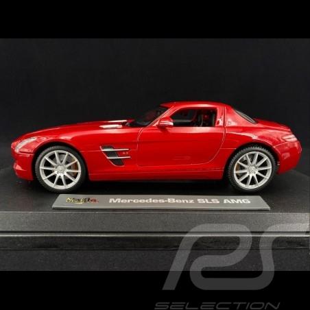 Mercedes-Benz SLS AMG Gullwing Rouge 1/18 Maisto M36196