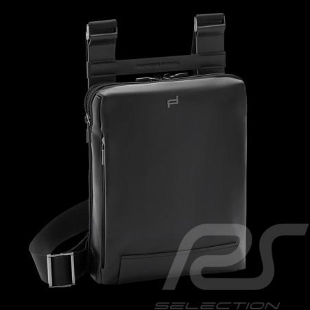 Porsche Design bag Shyrt 2.0 SVZ Shoulder bag Black Leather 4090002639