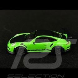 Porsche 911 GT3 RS type 991 pack Weissach Vert lézard 1/87 Schuco 452660000