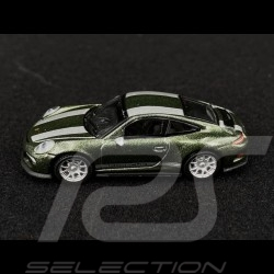 Porsche 911 R type 991 Oak green metallic 1/87 Schuco 452660100