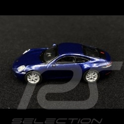 Porsche 911 Turbo S type 992 bleu gentiane 1/87 Schuco 452653200