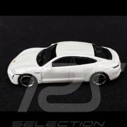 Porsche Taycan Turbo S Blanc 1/87 Schuco 452655800