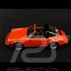 Porsche 911 Carrera 3.2 Targa Typ G Rot 1/87 Schuco 452656400