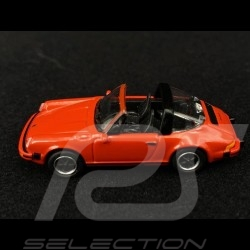 Porsche 911 Carrera 3.2 Targa Type G Red 1/87 Schuco 452656400