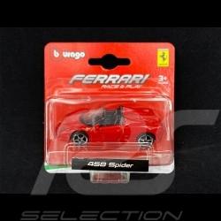 Ferrari 458 Spider Rouge 1/64 Bburago 56000