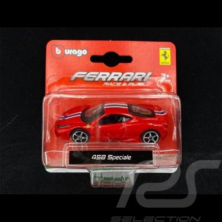 Ferrari 458 Speciale Red 1/64 Bburago 56000