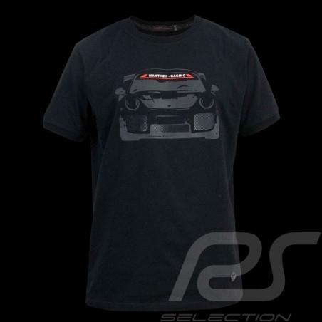 Porsche T-shirt Manthey Racing Porsche 911 GT2 RS Nürburgring 2018 Black - men