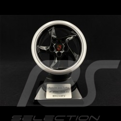 Wheel Porsche 993 Turbo 1995 black silver 1/5 Minichamps 500601994