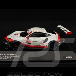 Porsche 911 GT3 RSR Type 991 n° 911 24h Daytona 2018 1/43 IXO MODELS LE43046