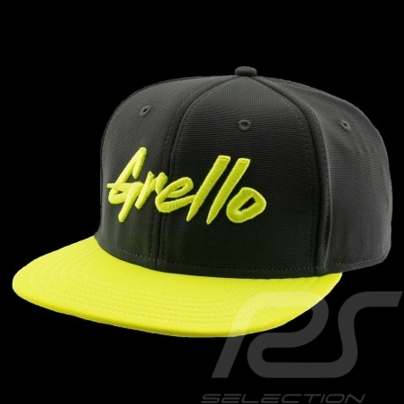 Casquette Manthey-Racing Grello visère plate grise / jaune MG-20-030