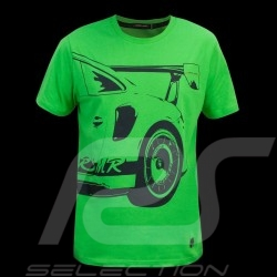 Porsche T-shirt Manthey Racing Porsche 911 GT3 RS MR Green - men