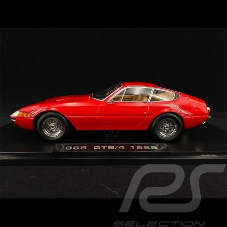 Ferrari 365 GTB Daytona Coupe 1969 Red 1/18 KK Scale KKDC180581