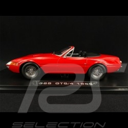 Ferrari 365 GTS Daytona Cabriolet 1969 Rouge 1/18 KK Scale KKDC180611