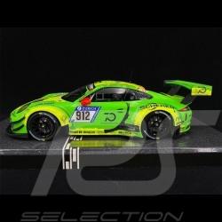 Porsche 911 GT3 R Type 991 n° 912 Vainqueur 24h Nürburgring 2018 1/18 Minichamps MG-M-911-18-1801