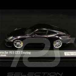 Porsche 911 GT3 Touring Type 991 2017 Purple Metallic 1/43 Minichamps 413067424 - Rare