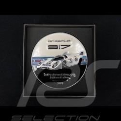 Grill Badge Porsche 917 n° 22 Martini Le Mans 1971 Weiß / Schwarz / Blau / Rot WAP0508100M0MR