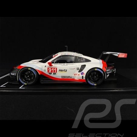 Porsche 911 GT3 RSR Type 991 n° 911 24h Daytona 2018 1/18 IXO-MODELS GT18001