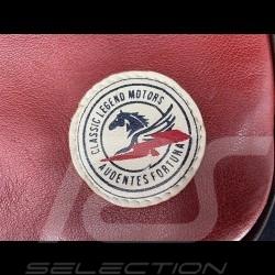 Leather Messenger Bag 24h Le Mans - Red 26063