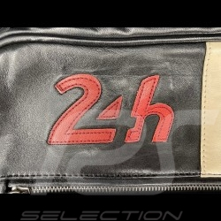 Leather Messenger Bag 24h Le Mans - Black 26063