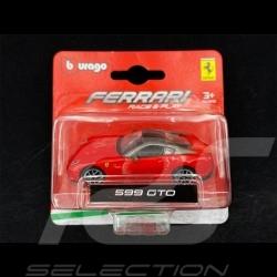 Ferrari 599 GTO Rouge 1/64 Bburago 56000