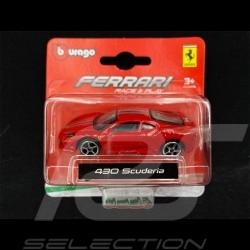 Ferrari 430 Scuderia Rouge 1/64 Bburago 56000