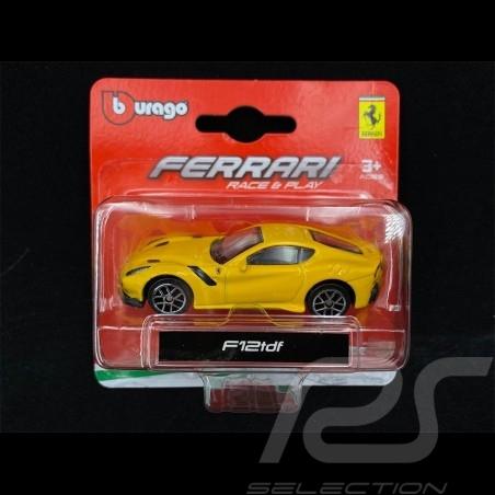 Ferrari F12 TDF 2015 Yellow 1/64 Bburago 56000