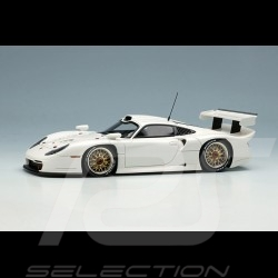 Porsche 911 GT1 Evo Type 996 1997 Glacier White 1/43 Make Up Vision EM329C