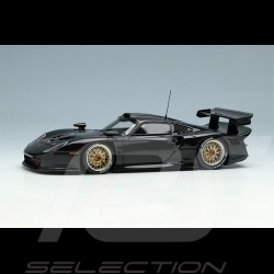 Porsche 911 GT1 Evo Type 996 1997 Black 1/43 Make Up Vision EM329E