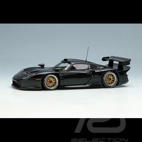 Porsche 911 GT1 Evo Type 996 1997 Black 1/43 Make Up Vision EM329E