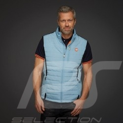 Gulf Jacket Performance Sleeveless Quilted Gulf blue / Black stripes - men