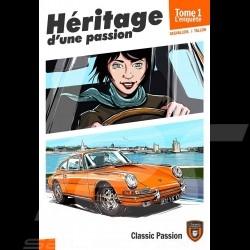 Buch Comic Héritage d'une passion - Tome 1 - L'enquête - französich