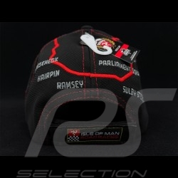 Cap Isle of Man Road Races 2020 Road Layout black / red - Kid 20IOM-KIDS BBC