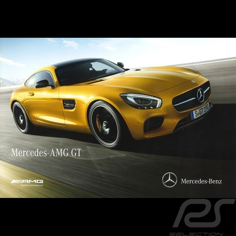 Mercedes Brochure Range Mercedes-AMG GT 2015 03/2015 in french MEGT4000-03