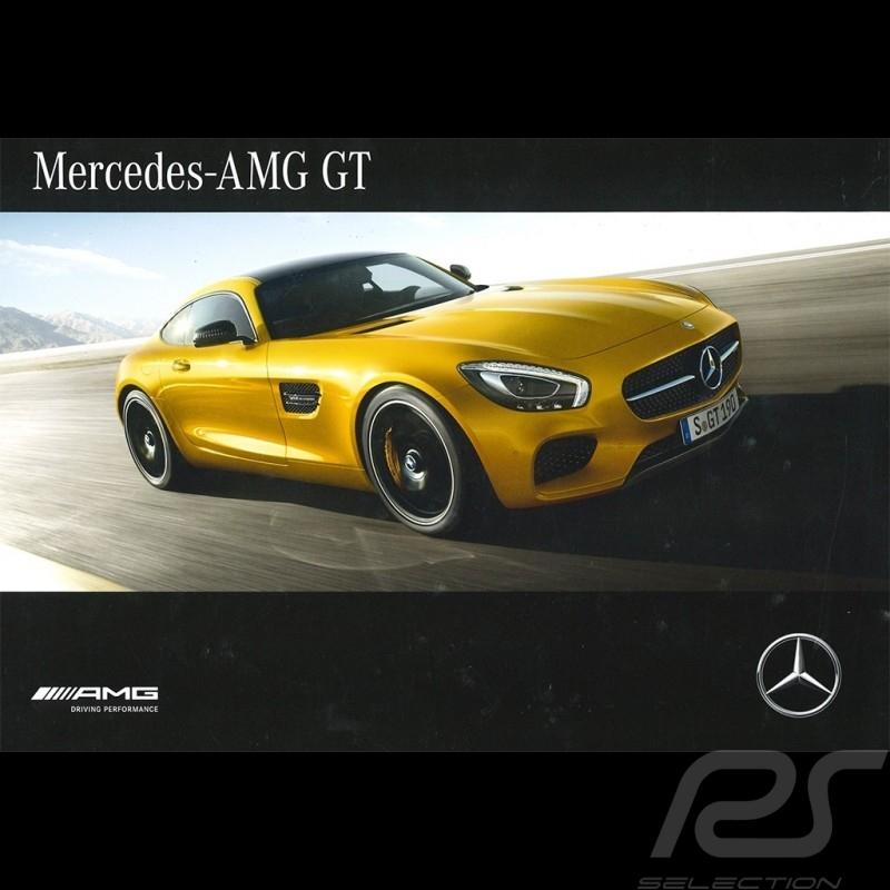 Mercedes Brochure Range Mercedes-AMG GT 2016 06/2016 in french MEGT4002-03