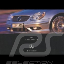 Mercedes Brochure Mercedes-Benz AMG Le Plein d'Emotion 2001 02/2001 in french AG004033-01