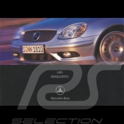 Mercedes Brochure Mercedes-Benz AMG Herzklopfen  2001 02/2001 in german AG004033-02
