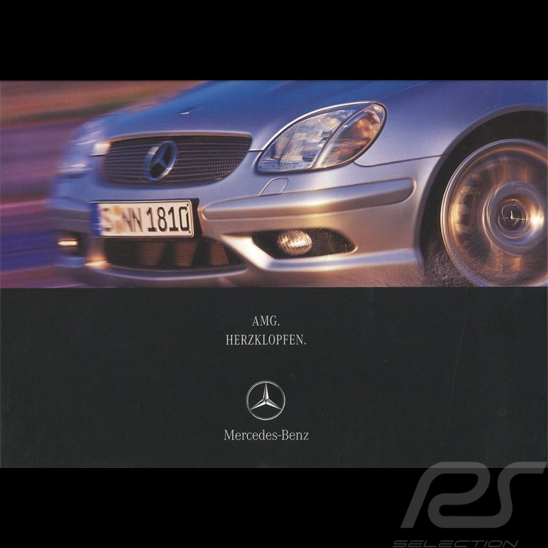 Mercedes Brochure Mercedes-Benz AMG Herzklopfen  2001 02/2001 in german AG004033-02