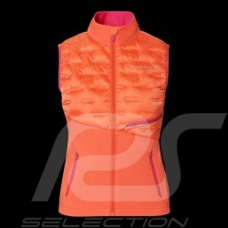 Porsche Jacket Sports Collection Sleeveless vest Coral pink WAP536M0SP - women