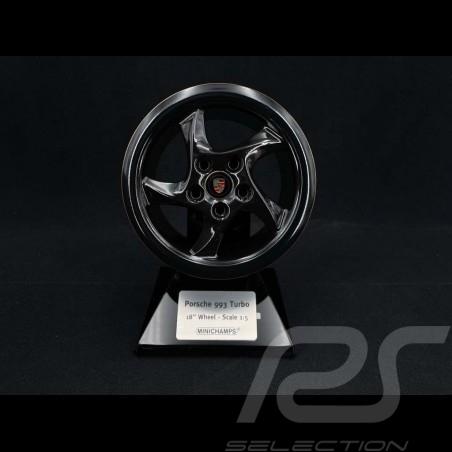 Felge Porsche 993 Turbo 1995 Project Gold schwarz gold 1/5 Minichamps 500601995